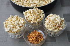 Freshly cooked popcorn Royalty Free Stock Photography