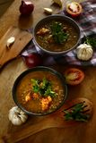 Freshly cooked or sauted monggo beans on a bowl royalty free stock images