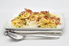Freshly cooked spaghetti Royalty Free Stock Images