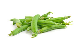 Freshly green peas Royalty Free Stock Photo