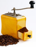 Freshly ground coffee Royalty Free Stock Images