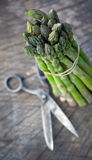 Freshly harvested asparagus Royalty Free Stock Image