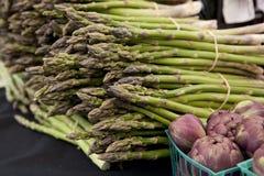 Free Freshly Harvested Asparagus Spears Stock Photos - 23829113