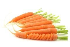 Freshly harvested carrots Stock Photo