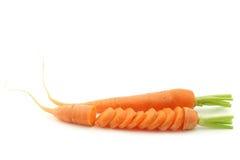 Freshly harvested carrots Stock Image