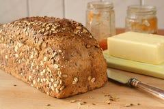 Freshly homemade bread Stock Image