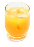 freshly juice orange squeezed Στοκ Εικόνα