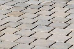 Freshly Laid Cobblestones Stock Photo