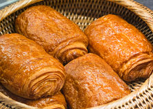 Freshly made breads croissant Royalty Free Stock Photography