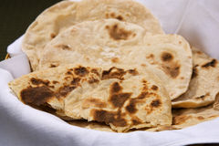 Freshly Made Chapatis Stock Image