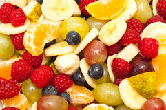 Freshly made fruit salad Royalty Free Stock Image