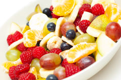 Freshly made fruit salad Royalty Free Stock Images