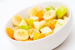 Freshly made, light fruit salad Royalty Free Stock Image