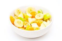 Freshly made, light fruit salad Royalty Free Stock Photography