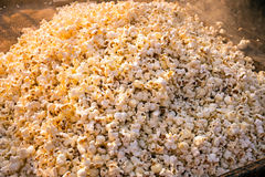 Freshly made popcorn in the streets in India Royalty Free Stock Photos