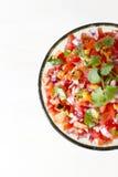 Habanero Salsa. Freshly made roasted habanero salsa royalty free stock photo