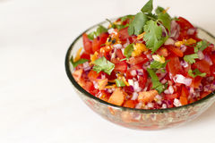 Habanero Salsa Royalty Free Stock Photography