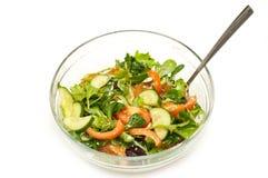 Freshly made salad royalty free stock photo