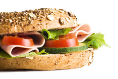 Freshly made sandwich Royalty Free Stock Images