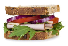 Freshly made sandwich Royalty Free Stock Photography