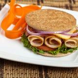 Freshly made sandwich Royalty Free Stock Photos