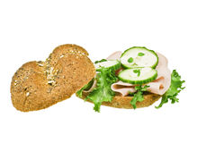 Freshly made sanwich Royalty Free Stock Image