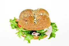 Freshly made sanwich Stock Image