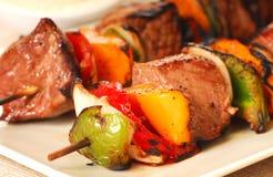Freshly made Shis Kabab Royalty Free Stock Images