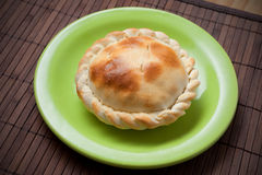 Freshly made tuna pie Royalty Free Stock Photos