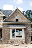 Freshly Painted Window in New Brick Home royalty free stock photos