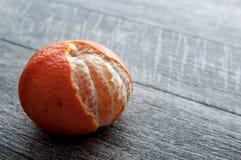 Freshly Peeled Tangerines Royalty Free Stock Photos