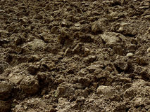 Freshly ploughed field Royalty Free Stock Photos