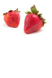 Freshly Ripe Strawberries Stock Photos