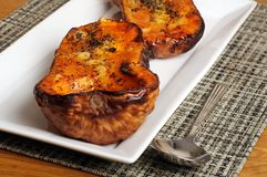 Roasted butternut squash Royalty Free Stock Photography