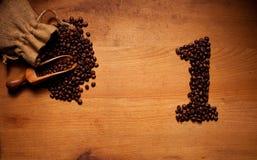 Freshly Roasted Coffee Beans 1 Stock Image