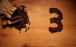 Freshly Roasted Coffee Beans 3 Stock Images