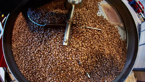Freshly roasted coffee beans Royalty Free Stock Photos