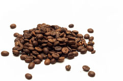 Freshly roasted coffee beans Stock Photos