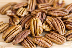 Freshly Roasted Pecan Nuts Royalty Free Stock Photo