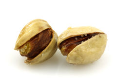 Freshly roasted pistachio nuts Royalty Free Stock Images