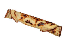 Freshly rolled pancake i Stock Images