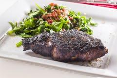 Freshly Seared Ribeye Steak se Stock Images
