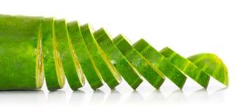 Freshly Sliced Cucumber. Stock Photography