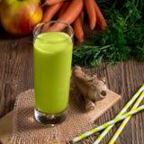 Freshly squeezed celery  juice Stock Image