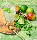 Freshly squeezed citrus juice Stock Image
