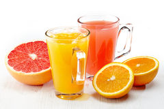Freshly squeezed juice Royalty Free Stock Photo