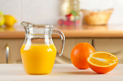 Freshly Squeezed Orange Juice Stock Photos