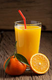 Freshly squeezed orange juice Stock Images