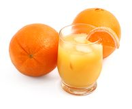 Freshly squeezed orange juice Stock Image