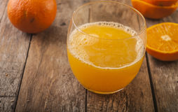 Freshly squeezed orange juice Royalty Free Stock Photo